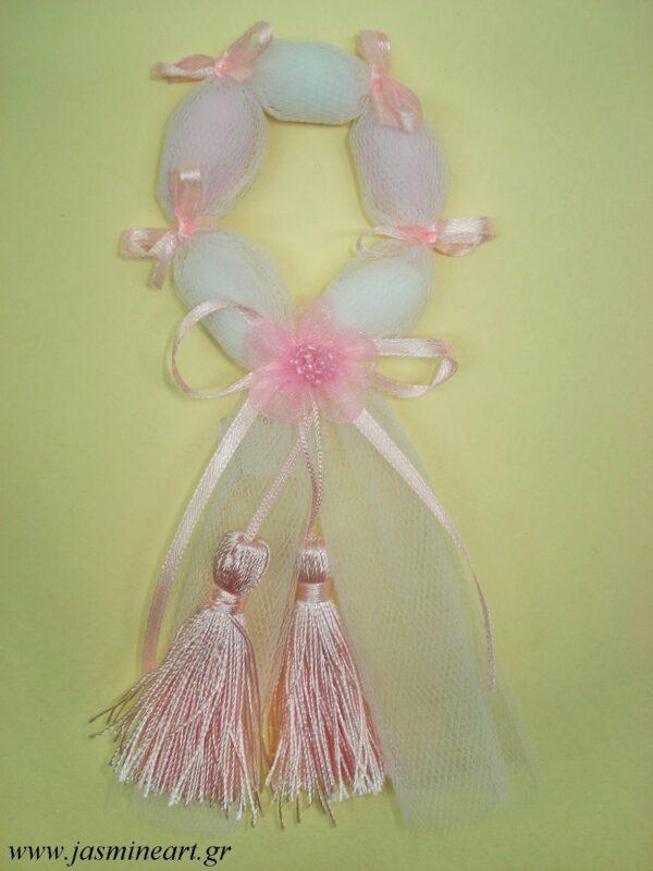Μπομπονιέρα Στεφανάκι Λουλούδι